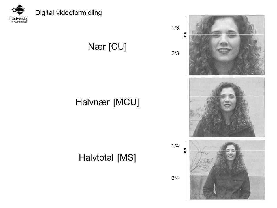 Nær [CU] Halvnær [MCU] Halvtotal [MS]